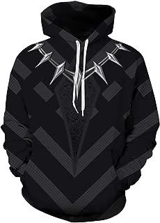 Men's Fashion Novelty Sweatshirts Animal 3D Printed Hoodies