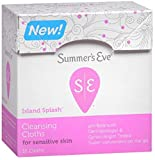Summer's Eve Cleansing Cloths Island Splash, 16...
