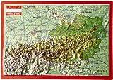 Reliefpostkarte Österreich