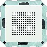 Gira 228227, Altoparlante Stereo/Radio RDS da incasso Sistema 55, Bianco opaco...
