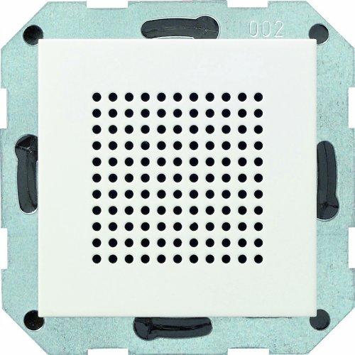 Gira 228227 luidspreker inbouw radio systeem 55, zuiver wit mat