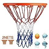 LATERN 2 Pezzi Reti Professionali per Canestro da Basket, Reti di...