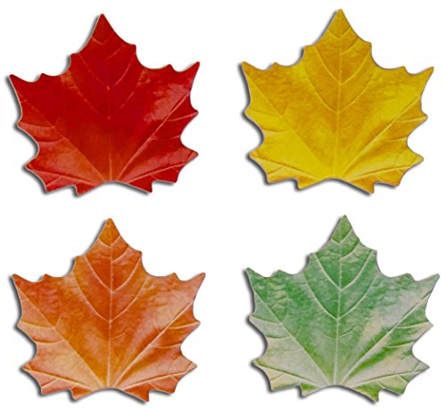 "100 Leaf Shaped Sticky Notes for Thankful Tree Activity - 3 1/2"" x 3 5/8"" - Gratitude Activity - Thanksgiving Tree DIY"