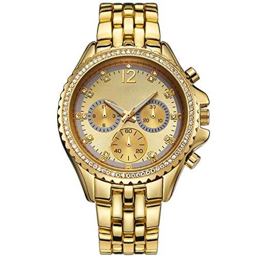 YXMAHW Modelos Femeninos De Moda Diamante Del Reloj Shi Ying Dial Del...