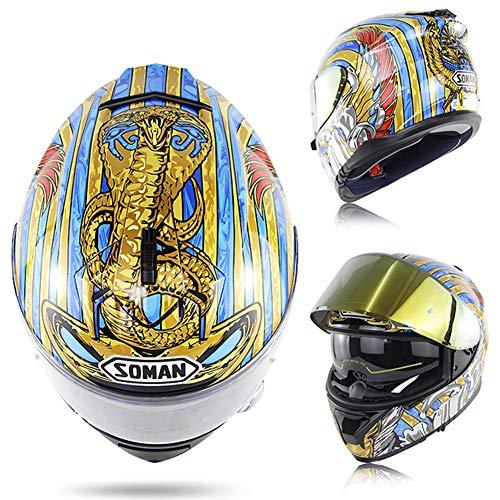 ACC helm voor motorfietsen, python, dot en ece, modular, flip-proof anticondens, voor mannen en vrouwen, beschermende kleding