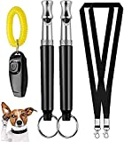 FANZ Ultrasonic Dog Whistles with Clicker, Training Guide Included,...