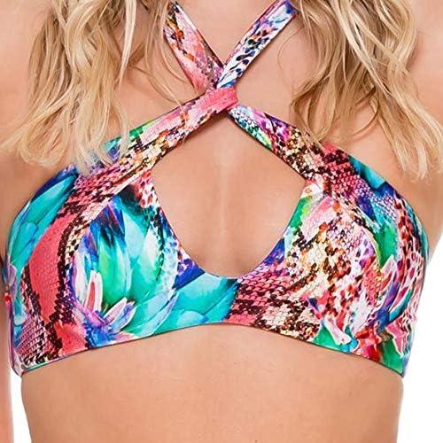 Luli Fama Womens Bikini Top