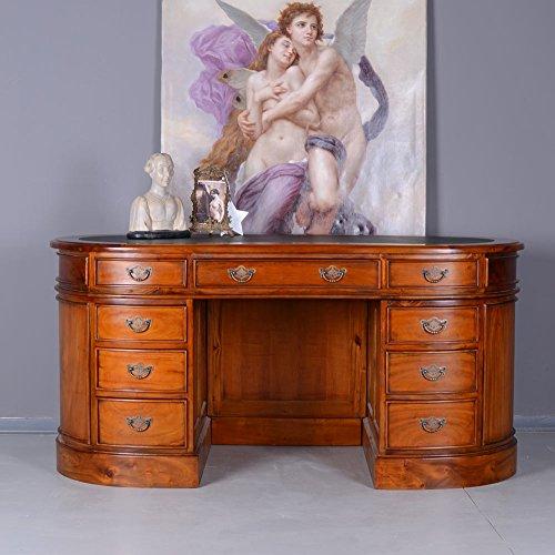 Englischer Kidney Schreibtisch Regency Desk Schreibmöbel Mahagoni mar100 Palazzo Exklusiv