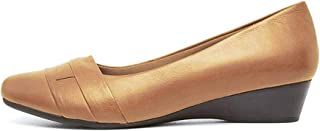 Supersoft Renzo2 Tan Leather Womens Shoes Flats Shoes