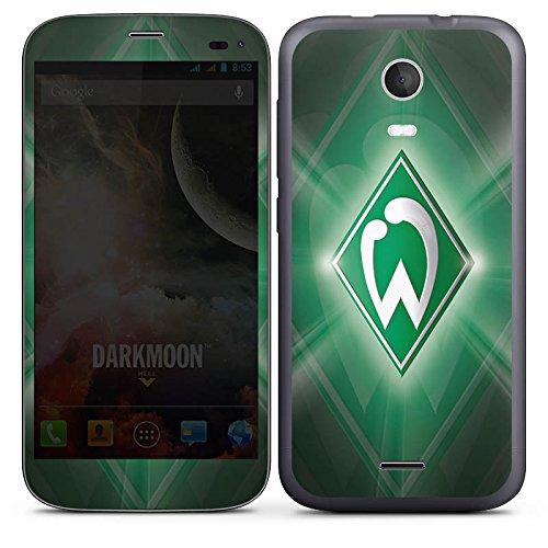 DeinDesign Wiko Darkmoon Folie Skin Sticker aus Vinyl-Folie Aufkleber Werder Bremen Fanartikel SV Fußball