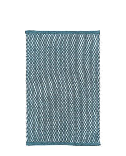 LIV INTERIOR PET Teppich DOTS 200 x 140 cm, blau Natur