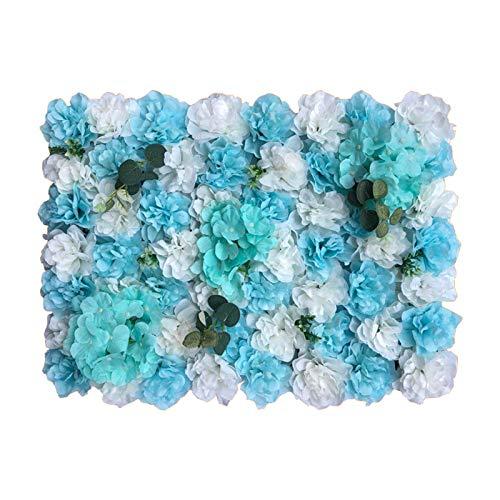YNGJUENCP Blumen-Hintergrund-Frühlings-Blumen-Kulissen Für Fotografie Hochzeit Geburtstag Familienparty-Foto-Hintergrund Muttertagsdekoration Baby-Duschfahne Für Studio-Requisiten -Blue/Pi(Color:01)