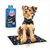 Dog Cooling Mat - Self Cooling, Non-Toxic, Waterproof - Scratch & Puncture Resistant - Safe for Pets & Kids - Gel-Filled Pad for Outside or Inside Use at Home, Park or Beach
