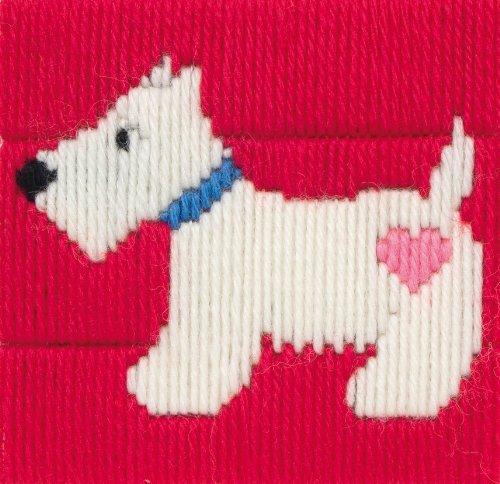 Anchor - Kit para principiantes de tapiz para bordar (10 x 10cm)