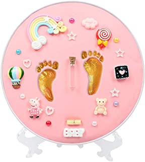 baby handprint and footprint newborn keepsake frame infant handprint