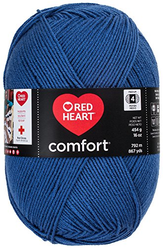 Red Heart Comfort Yarn, Indigo