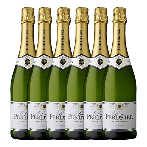 Vino Espumoso Louis Perdrier Brut 750 ml (Caja de 6 bot.)