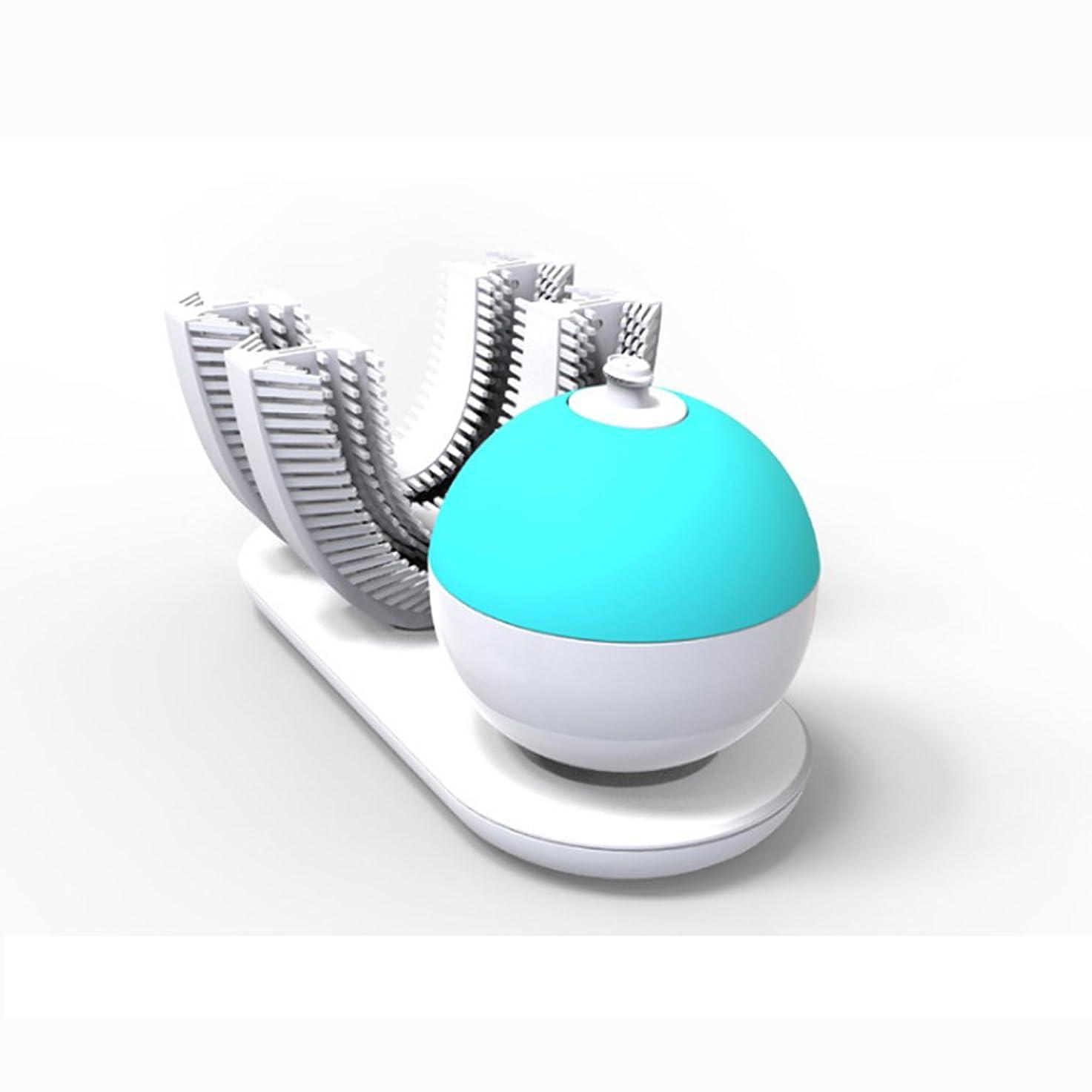 子孫連続的ペア電動歯ブラシ、完全に包まれた自動レイジーブラッシングアーティファクト、スマートシリコン電動歯ブラシ、歯茎を傷つけることなく歯をきれいにする360°