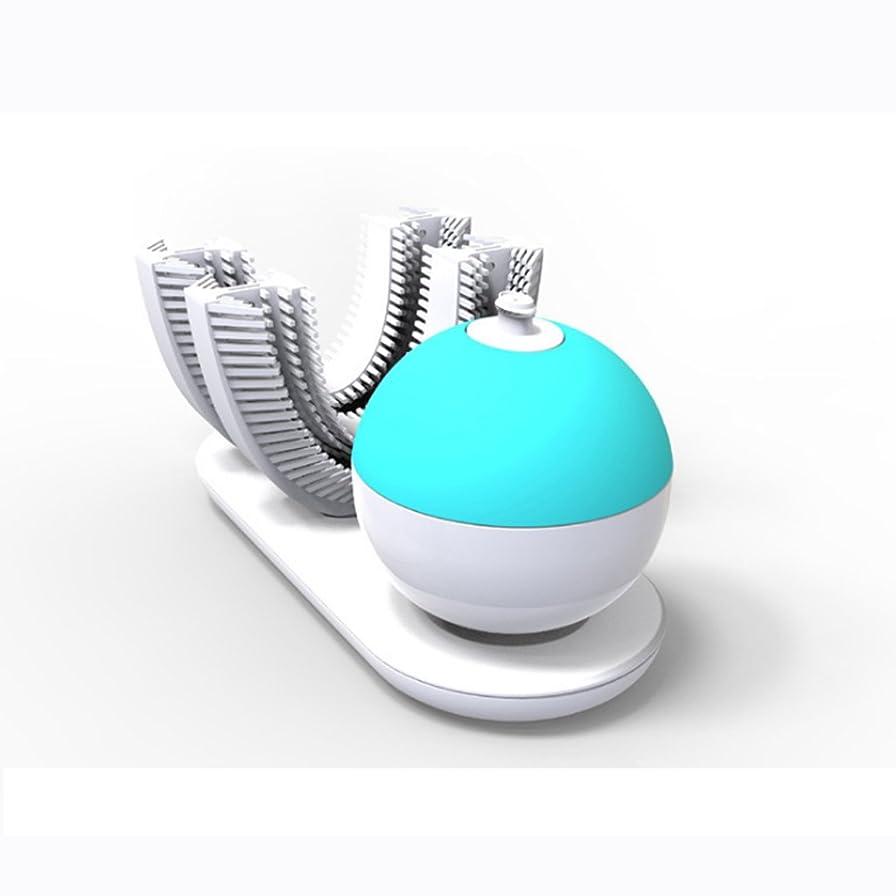受ける可塑性ナンセンス電動歯ブラシ、完全に包まれた自動レイジーブラッシングアーティファクト、スマートシリコン電動歯ブラシ、歯茎を傷つけることなく歯をきれいにする360°