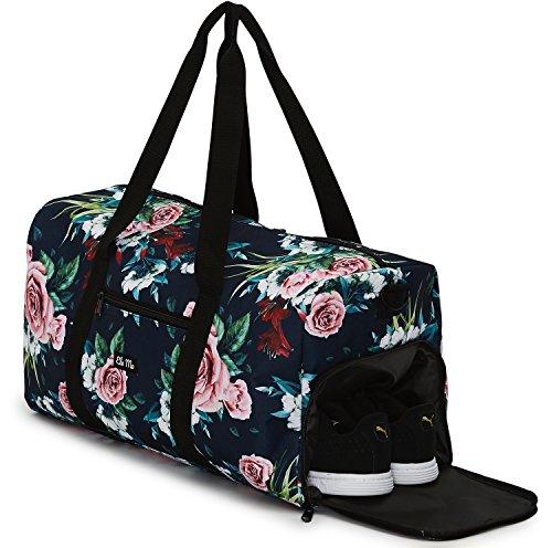 Elegante bolso deportivo Ela Mo, bolsa de viaje con compartiment para zapatos,...