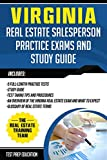Image of Virginia Real Estate Salesperson Practice Exams and Study Guide