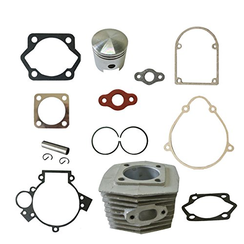 New Cylinder&Piston&Pin Clips Wrist&Gasket Set Fit 80cc Motorized Bicycle Bike Motor