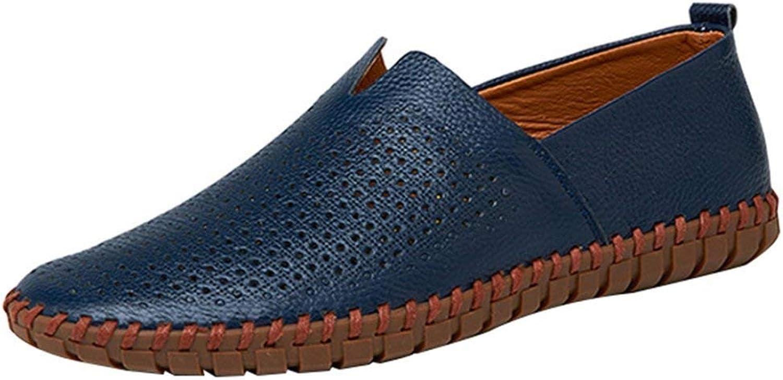 FuweiEncore Men's Canvas shoes Casual shoes Lofo shoes Comfortable Comfortable Lazy shoes (color   9, Size   38EU)
