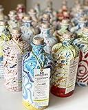 Olio Extravergine di Oliva BIO Con Oliera Ceramica Artigianale - Olio Novello 2020 Evo Edizione Limitata - Fruttato medio - Biologico Basilicata - Antico Frantoio Con Spremitura a Freddo - 0,5 Litri