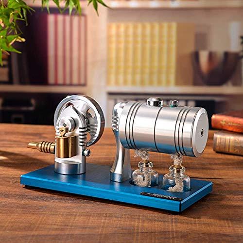 AMITD Juguetes educativos para niños de Alta Temperatura Stirling máquina de Vapor Clases de física de la combustión de Calor