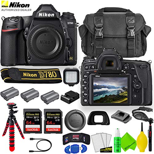 Nikon D780 DSLR Camera (Body Only) 1618 with 2...