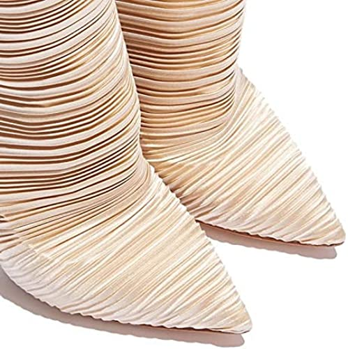 a5bf32f0d Stiefel de Moda para damen Tela elástica Stiefel clásicas de otoño e ...