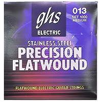 GHS (ジーエイチエス) エレキギター弦 1000 PRECISION FLATS - Medium