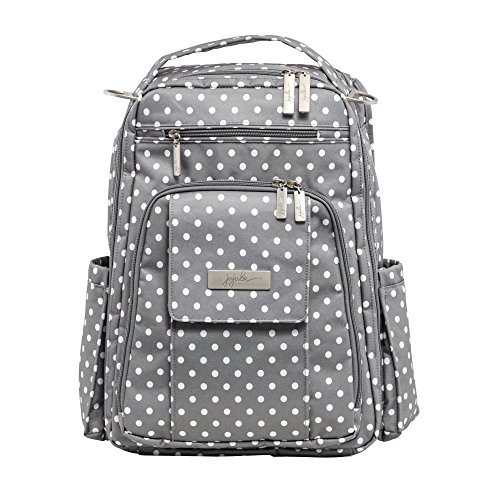 Ju-Ju-Be Classic Collection Be Right Back Backpack Diaper Bag, Dot Dot Dot
