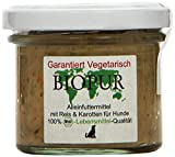 BIOPUR Arroz y Zanahorias mälzers Bio Solo los Alimentos para Perros, 12Unidades (12x 100g)