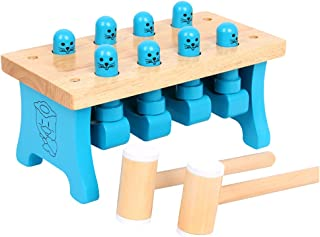 Generic 1 Set Whack- A- Mole Toy Interesting Interactive Game Toy for Boys Girls