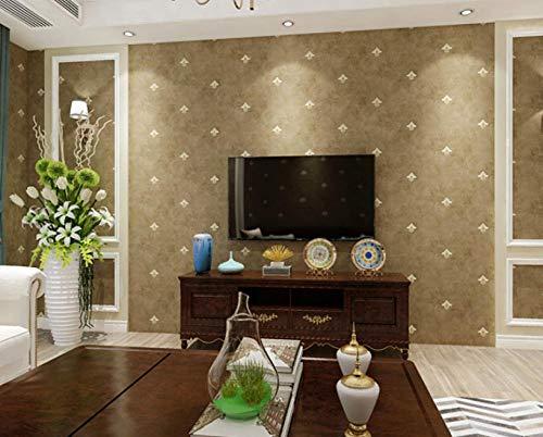 Moderne, schlichte 3D-Vlies-Tapete im Landhaus-Stil, modern, minimalistisch, für Küche, Schlafzimmer und Wohnzimmer, 9,5 x 0,53 m, gelb