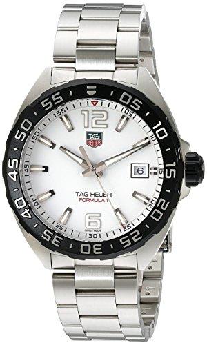 TAG Heuer Formula 1 - Reloj (Reloj de Pulsera, Masculino, Acero, Acero Pulido, Acero, Acero Inoxidable)