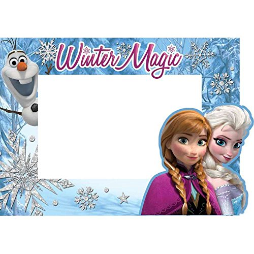 DISNEY FROZEN ELSA, ANNA, AND OLAF WINTER MAGIC PICTURE FRAME
