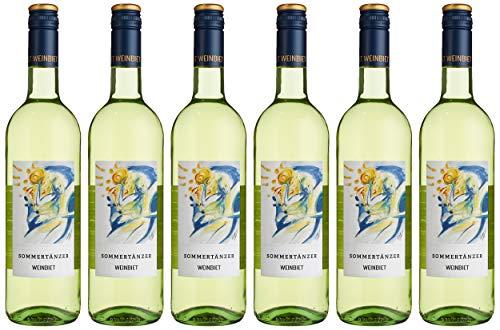 Weinbiet Manufaktur eG Sommertänzer Feinherb Weißwein (6 x 0.75 l)