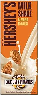 HERSHEY'S Milkshake Almond, 180ml - Pack of 6, 6 X 180 ml