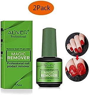 blue nail polish remover