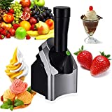 ZJYX Ice Cream Maker, Home Ice Cream Maker, Frozen Postre Maker Machine, Make Delicious Helados Sorbetes y Frozen Yogurt Maker es una Alternativa Vegana al Helado