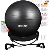 HBselect Balle de Fitness pour Pilates Ballon Grossesse Ballon Gym et de...