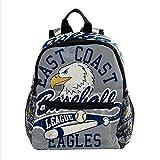 Mini mochila para computadora portátil para mujer, bolsa de viaje Cartel de la liga de fútbol de la costa oeste para el trabajo, escuela, al aire libre