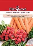Dürr Samen 1202 Möhre mit Radies Saatband (Möhrensamen)