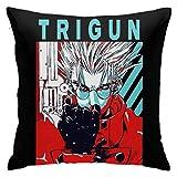 HAJK Trigun_VASH Merch Pillowcase Multicoloured Generalduty 18inch18inch