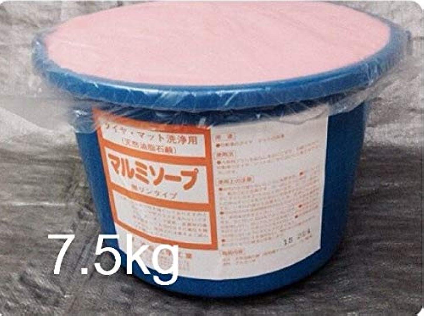 終わった寮アデレードバケツ石鹸7.5kg 国産固形石鹸 タイヤ洗浄用 タイヤマット用石鹸