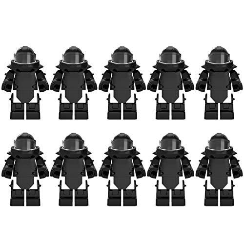 PARIO 10St. EOD Custom Rüstung Set für Bundeswehr Pionier Mini Figuren SWAT Team Polizei, kompatibel mit Lego