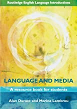 Permalink to Language and Media: A Resource Book for Students PDF