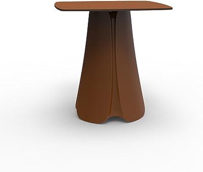 Hongsezhuozi en Verre Table De Ronde Transparente Table nX8Pk0Ow